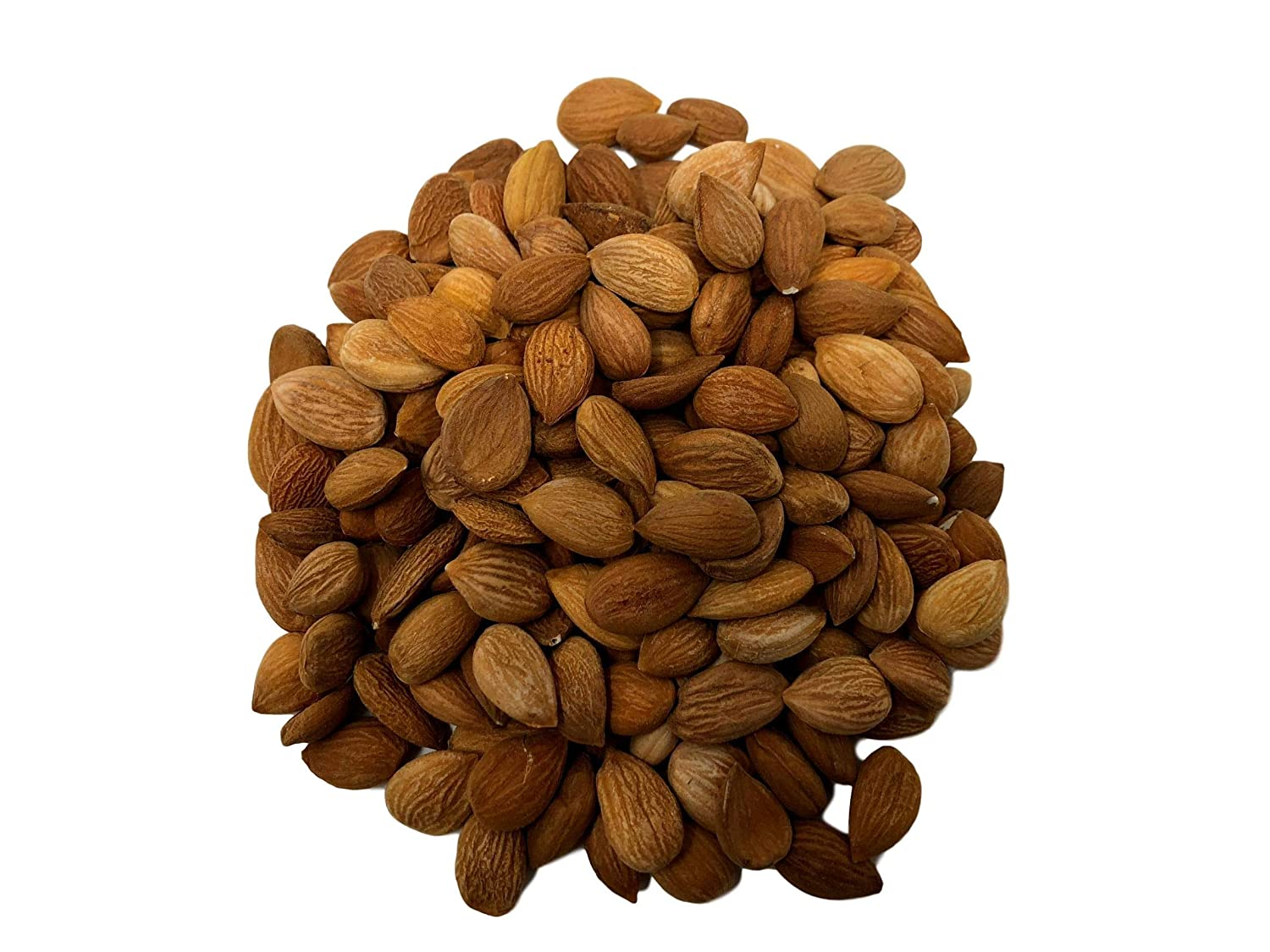 NUTS U.S. - Bitter Apricot Kernels (Seeds) | Unpasteurized and Non-GMO | No Sulphure | Packed In Resealable Bags!!! (2 LBS)