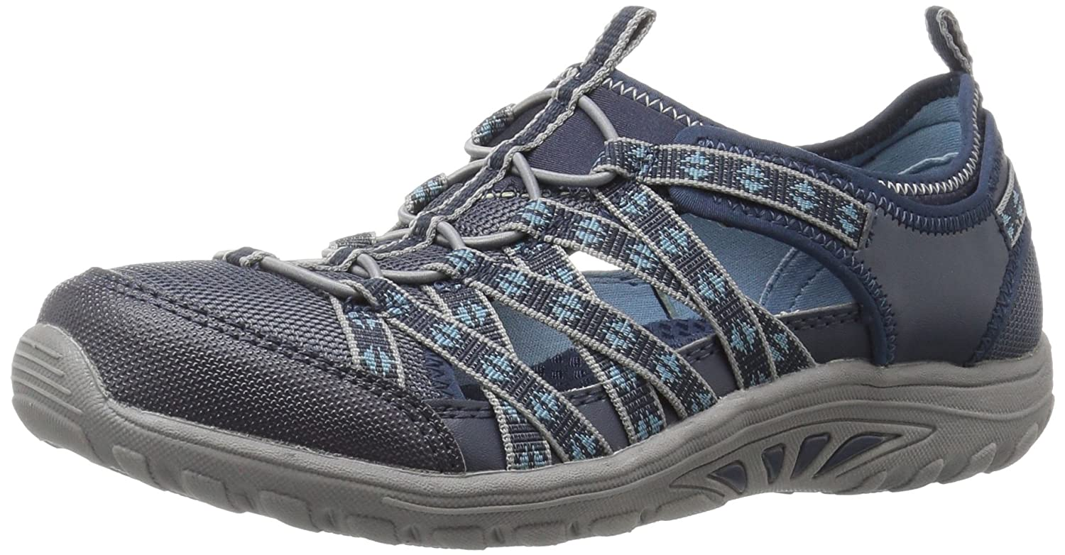 Skechers Women's Reggae Fest-Dory Fashion Sneaker B01HR3UX86 9.5 B(M) US|Navy