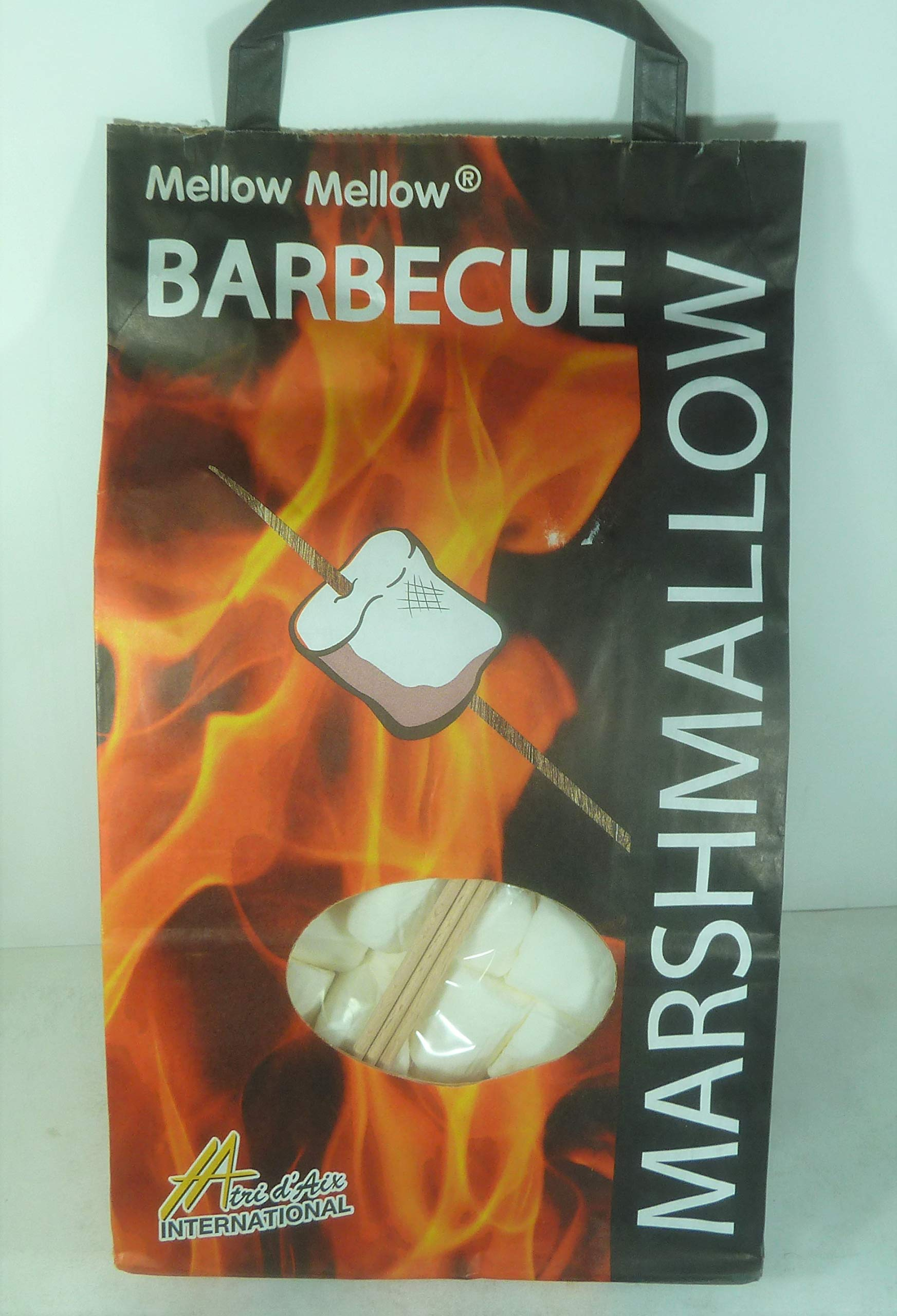 BARBECUE MARSHMALLOW MELLOW MELLOW 1 Bag 500g,Fresh