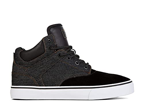 best service 74c82 e936f Yellow Shoes - SLACKSIDE - Men s Hi Top   Fashion Sneakers - Black ...