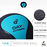 Medicine Exercise Ball with Dual Texture for