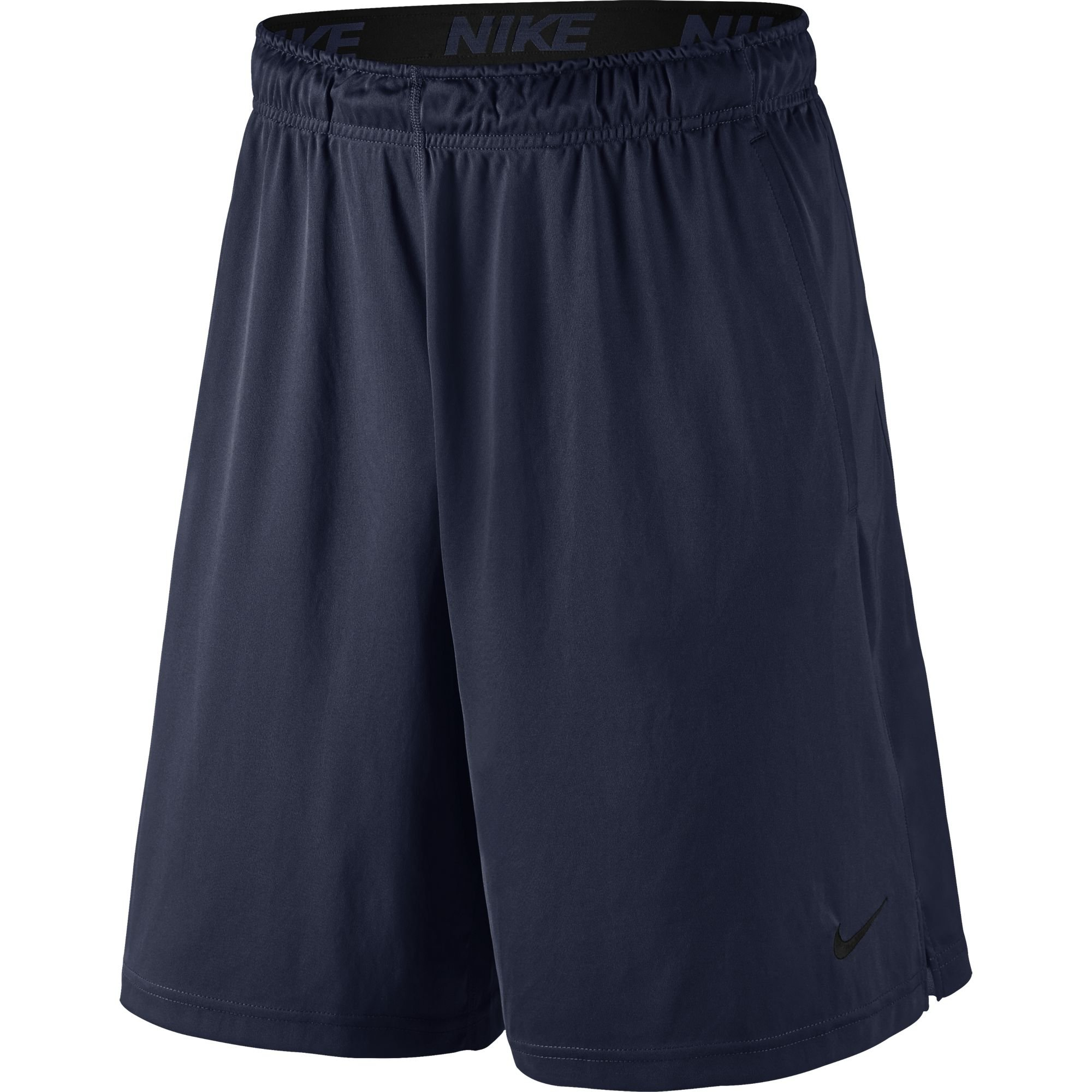 NIKE Men's Dry Fly 9'' Shorts, Obsidian/Black, Large