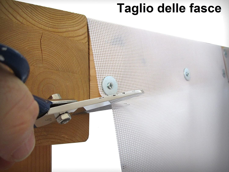 FASCIA PVC OMBREGGIANTE AVORIO cm 40 x 1250 cm