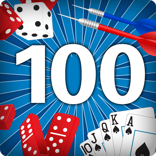 LET'S PLAY! 100 GAMES: Simple Rules to the World's Best Card, Dice, Domino and Dart Games