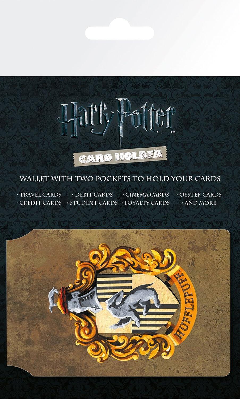 GB Eye LTD, Harry Potter, Hufflepuff, Tarjetero: Amazon.es: Hogar