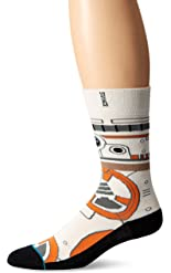 Stance Mens BB8 Socks Large Tan