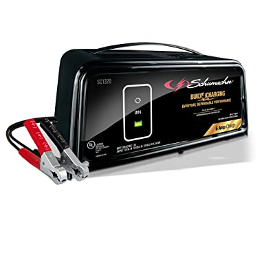 Schumacher SC1320 6/12V Fully Automatic Battery Charger and 6A Maintainer: Automotive