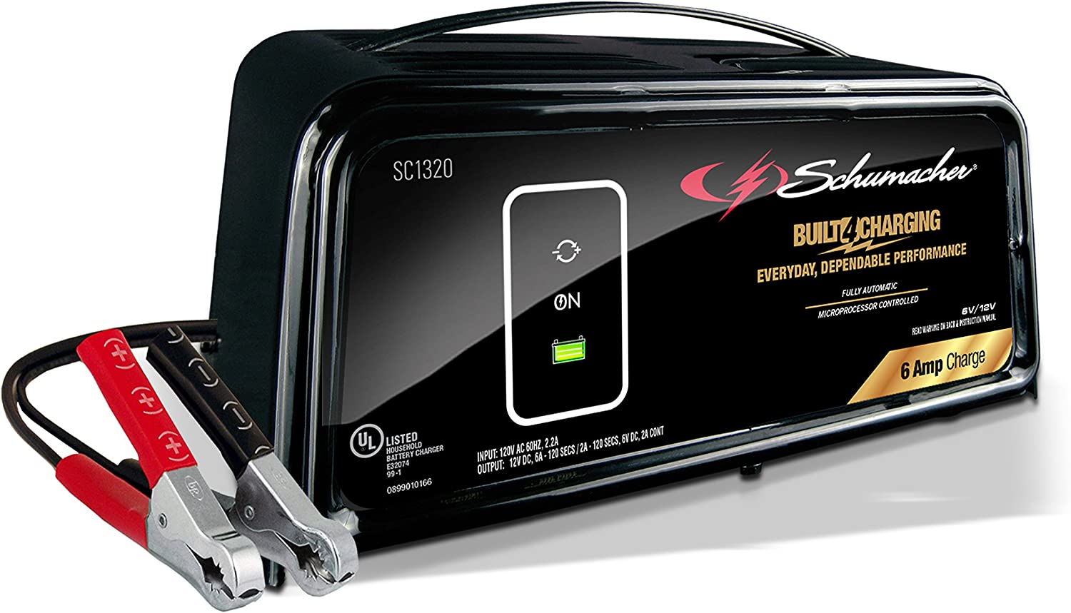 Schumacher SC1320 Battery Charger and Maintainer