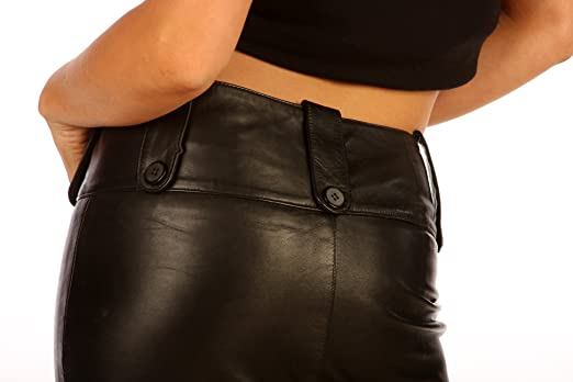 Real Leather Skirt Long Tall Leadies Pencil Skirt Tight Fit 1304 ...