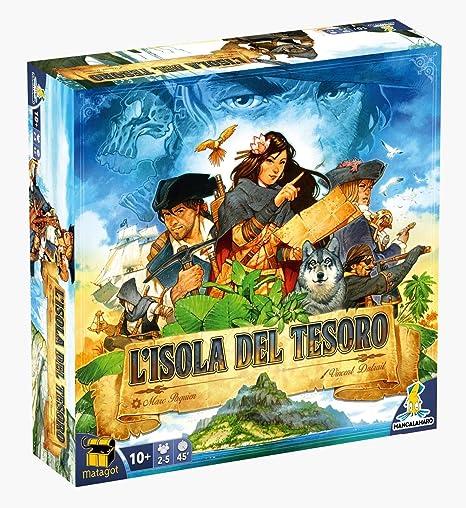 Mancalamaro - La Isla del Tesoro,, LIDT: Amazon.es: Juguetes y juegos