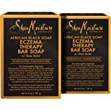 SheaMoisture African Black Soap Eczema Therapy Bar Soap   Pack of 2   5 Ounce