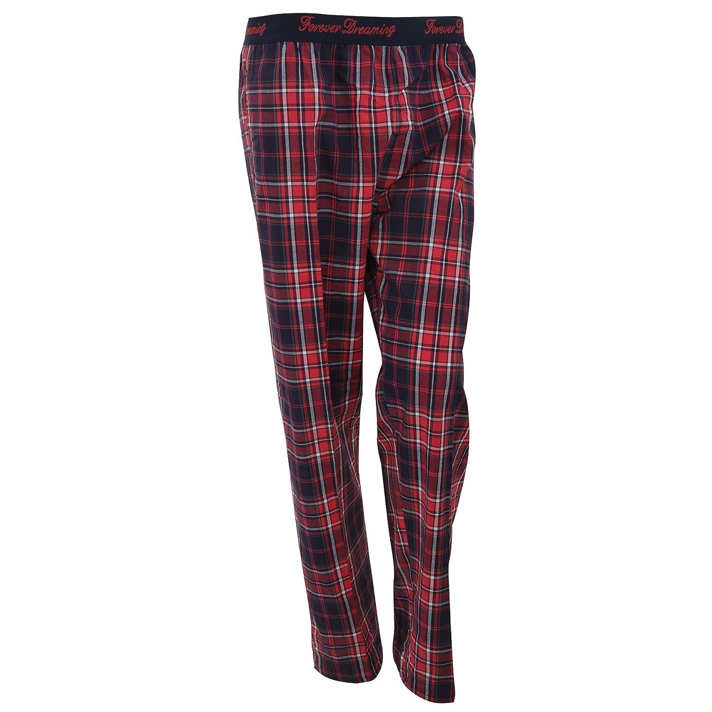 Pantalón de pijama con estampado a cuadros para mujer (Grande (L)/Rosa): Amazon.es: Ropa y accesorios