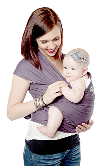 04a6c63afd6 Amazon.com   Moby Wrap Organic 100% Cotton Baby Carrier