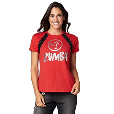 Zumba Womens Lace It Up Top Well Red S At Amazon Womens