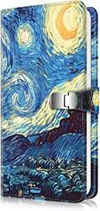 Fintie Wallet Photo Album for Fujifilm Instax 3-Inch Film,108 Pockets Snap Fastener Album for Fujifilm Mini 11 Mini 9 Mini 8+ Mini 90 Mini Link Printer, HP Sprocket, Polaroid Camera, Starry Night