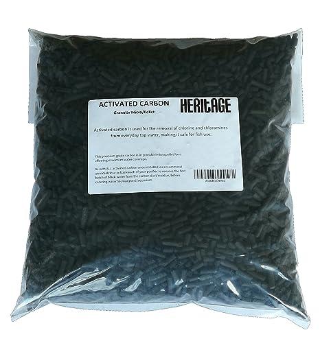 10 kg de carbón activado acuario tanque de peces filtro externo medios de comunicación/Koi