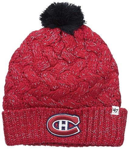 8b42ff98e0a Amazon.com    47 NHL Montreal Canadiens Women s Fiona Cuff Knit Hat ...