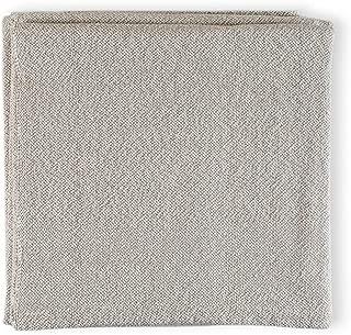 product image for Brahms/Mount Milo Blanket   Cotton - Khaki Twist - Twin Size