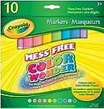 Crayola 10 Color Wonder Markers, Tropical