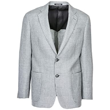 nuovo di zecca 474f1 d65da Emporio Armani Men Blazer Grigio 40 US at Amazon Men's ...