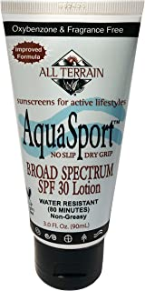 product image for All Terrain AquaSport SPF30 Sunscreen 3oz, Mineral Sunscreen, With Zinc Oxide, Using Natural Ingredients