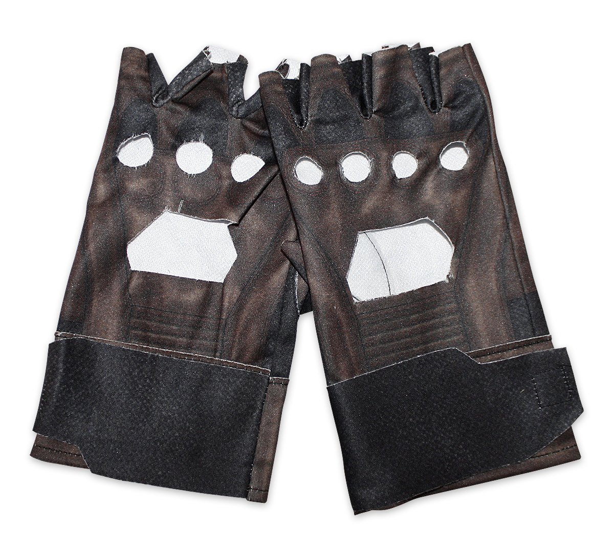 Captain America The Winter Soldier Retro Gloves Leather-Like Gloves by Close Up