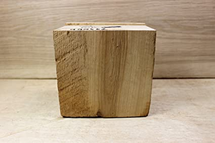 Wood cutting blocks are finely sanded and are type high inch