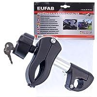EUFAB 11235 Rahmenhalter Abnehmbar kurz, Durchmesser : 25 mm