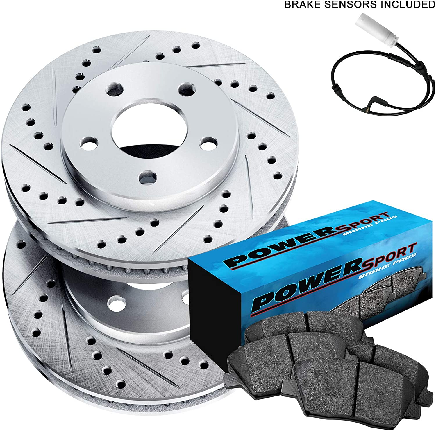 Front+Rear Brake Rotors /& Ceramic Pads For BMW 335d 335i 335i xDrive 335xii