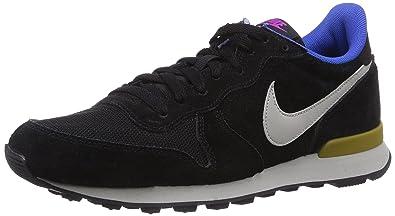 Nike Internationalist Leather, Running Entrainement Homme - Noir  (Black/Granite/Bronzine)