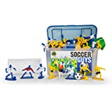 Kaskey Kids Soccer Guys - Inspires Imagination with Open-Ended Play - Includes 2 Full Teams and More - For Ages 3 and Up