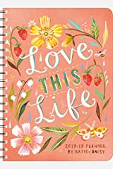 Katie Daisy 2017 – 2018 On-the-Go Weekly Planner: 17-Month Calendar with Pocket Calendar