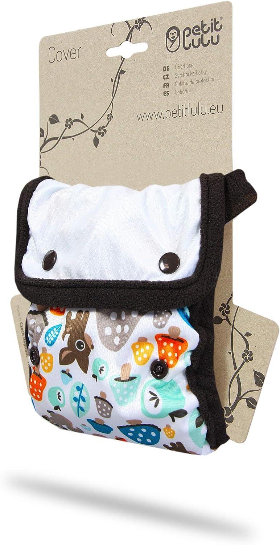 R/éutilisable /& Lavable Fabriqu/é en Europe Couche HNI Blue Culotte de Protection pour la Couche Minimale Petit Lulu Baby Elephant /Étanche TE2