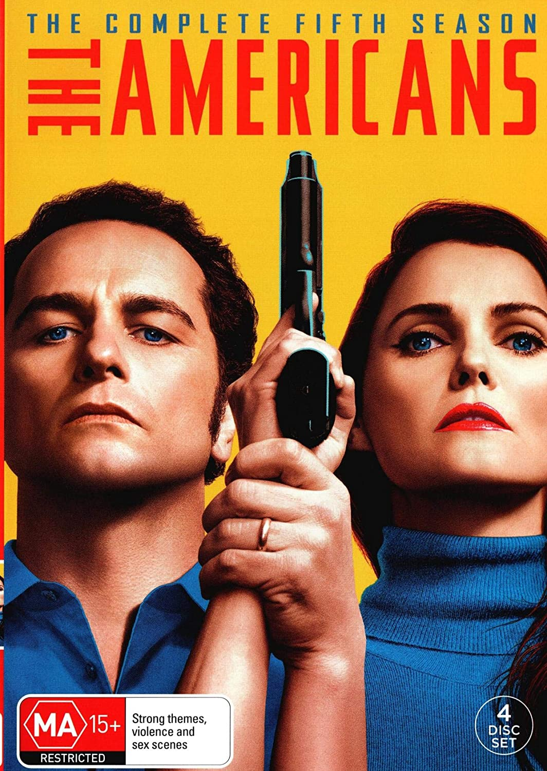 Amazon Com The Americans Season 5 Non Usa Format Pal Region 4 Import Australia Mathew Rhys Holly Taylor Noah Emmerich Keri Russell Movies Tv