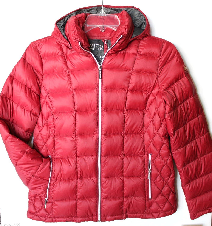 Michael Kors Women's Down Coat Packable Jacket at Amazon Women's ...