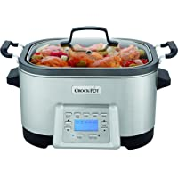 Crock-Pot 6-Quart 5-in-1 Multi-Cooker with Nonstick Inner Pot