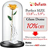 DEFAITH Real Rose 24K Gold Dipped, Forever Gifts