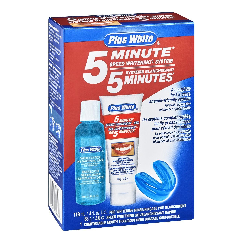 amazon com plus white whitening system 5 minute speed original