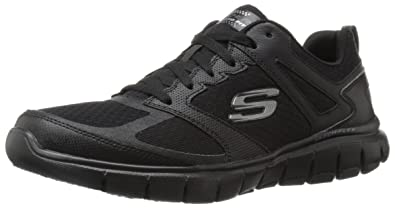 Skechers Sport Men's Skech Flex Power Alley Oxford,Black,7.5 ...