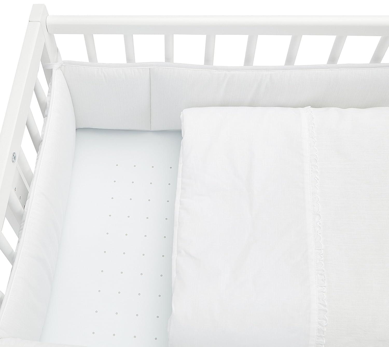 Ikid 99AI016 color blanco Minicuna colecho con vestidura