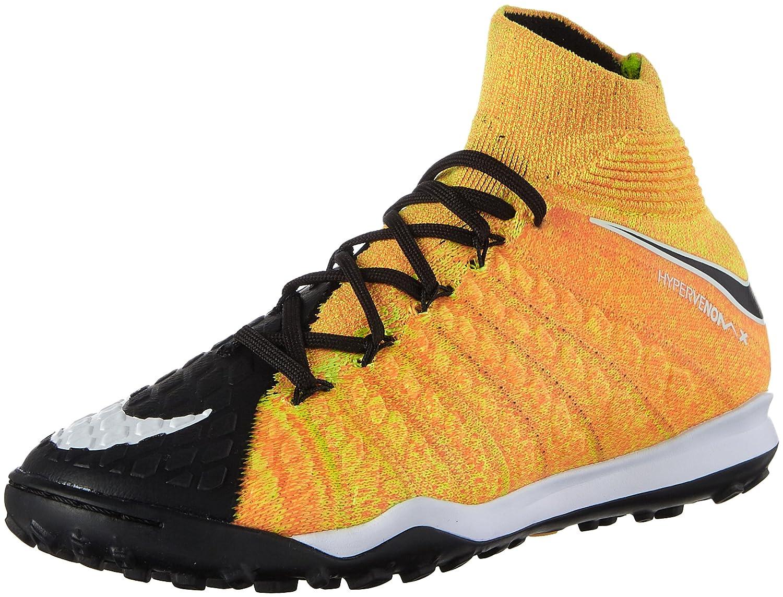 huge selection of fa51f df63c Amazon.com   Nike Junior Hypervenomx Proximo II DF TF Soccer Shoes (Laser  Orange Black) (5 Big Kid M)   Soccer