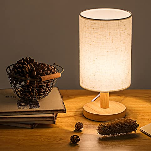 Bedside Table Lamp, Zzkoo 11\