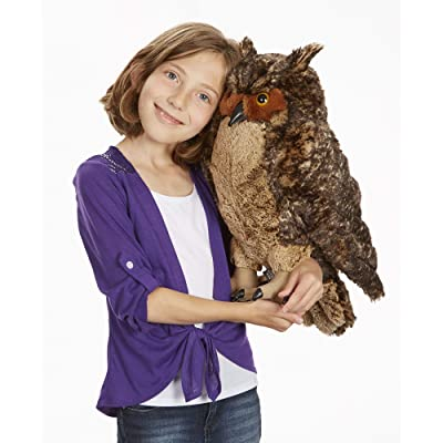 Melissa & Doug Owl: Toy: Toys & Games