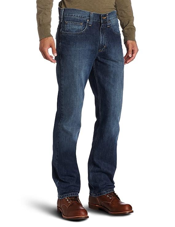 Amazon.com: Carhartt Hombre Ajuste Recto (Pierna Recta: Clothing