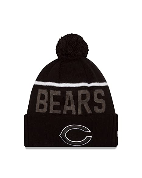 3de758f0e NFL Chicago Bears 2015 Sport Knit, Black, One Size