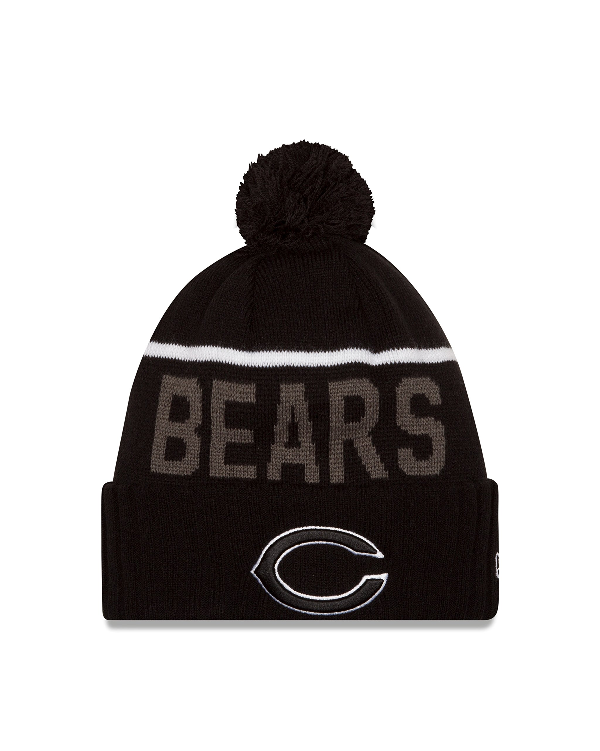 NFL Chicago Bears 2015 Sport Knit, Black, One Size