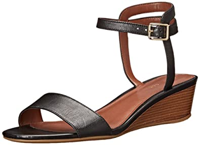 Cole Haan Women's Elsie Slide 40 II Wedge Sandal, Black, ...