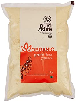 Pure & Sure Organic Besan, 1kg