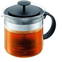 Bodum Teapress 1,5l schwarz Teapot Bistro Nouveau