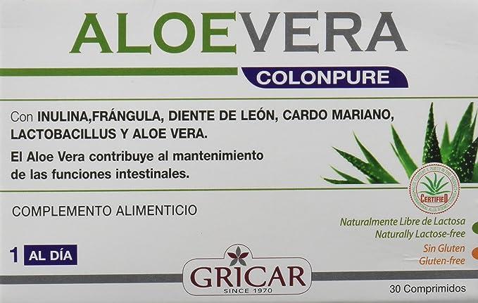 Gricar - Aloe Vera Colonpure, 30 Tab